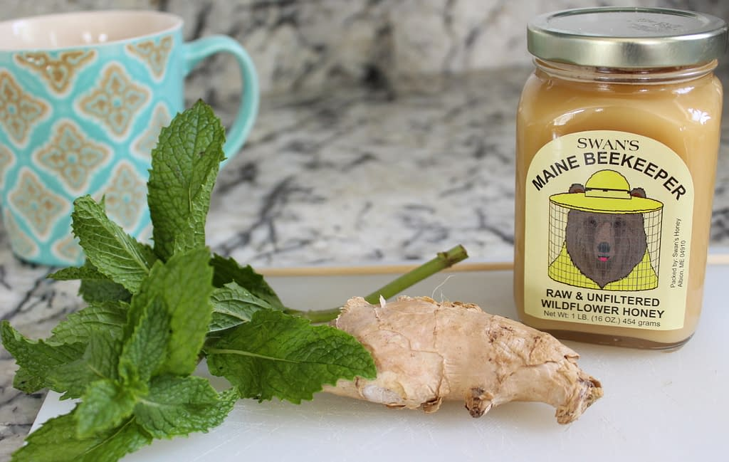 ginger mint tea ingredients