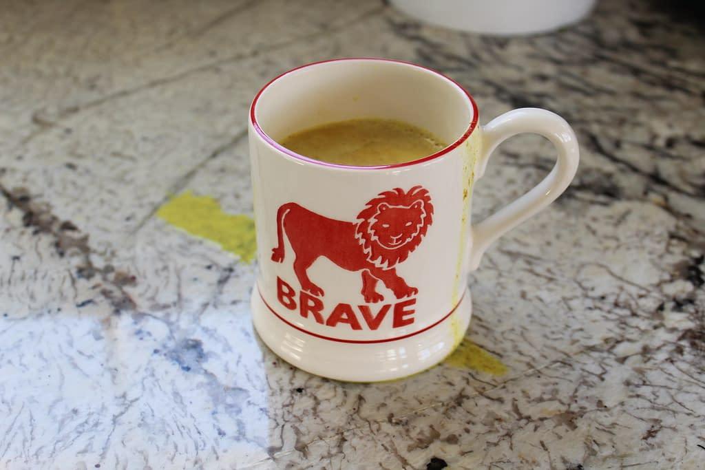 golden milk latte real life