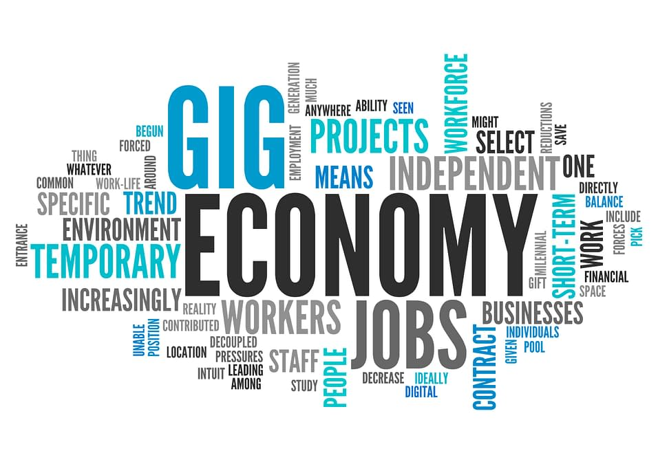 Gig Economy Word Blurb