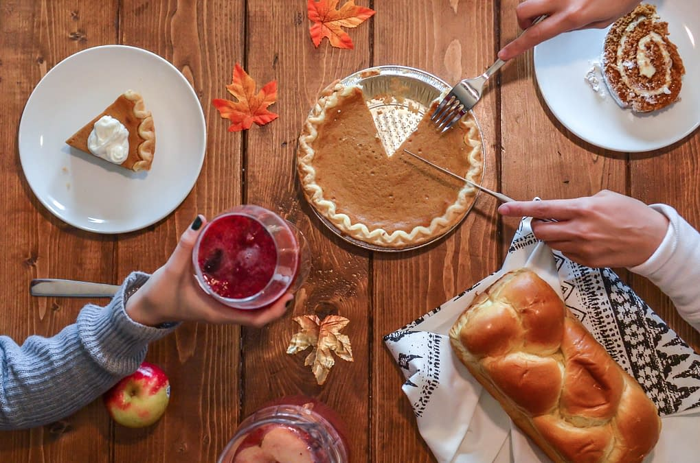 healthy thanksgiving dessert swaps