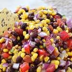 Sweet & Spicy Corn and Black Bean Salsa Recipe