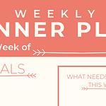 I Designed a Printable for Weekly Meal Planning