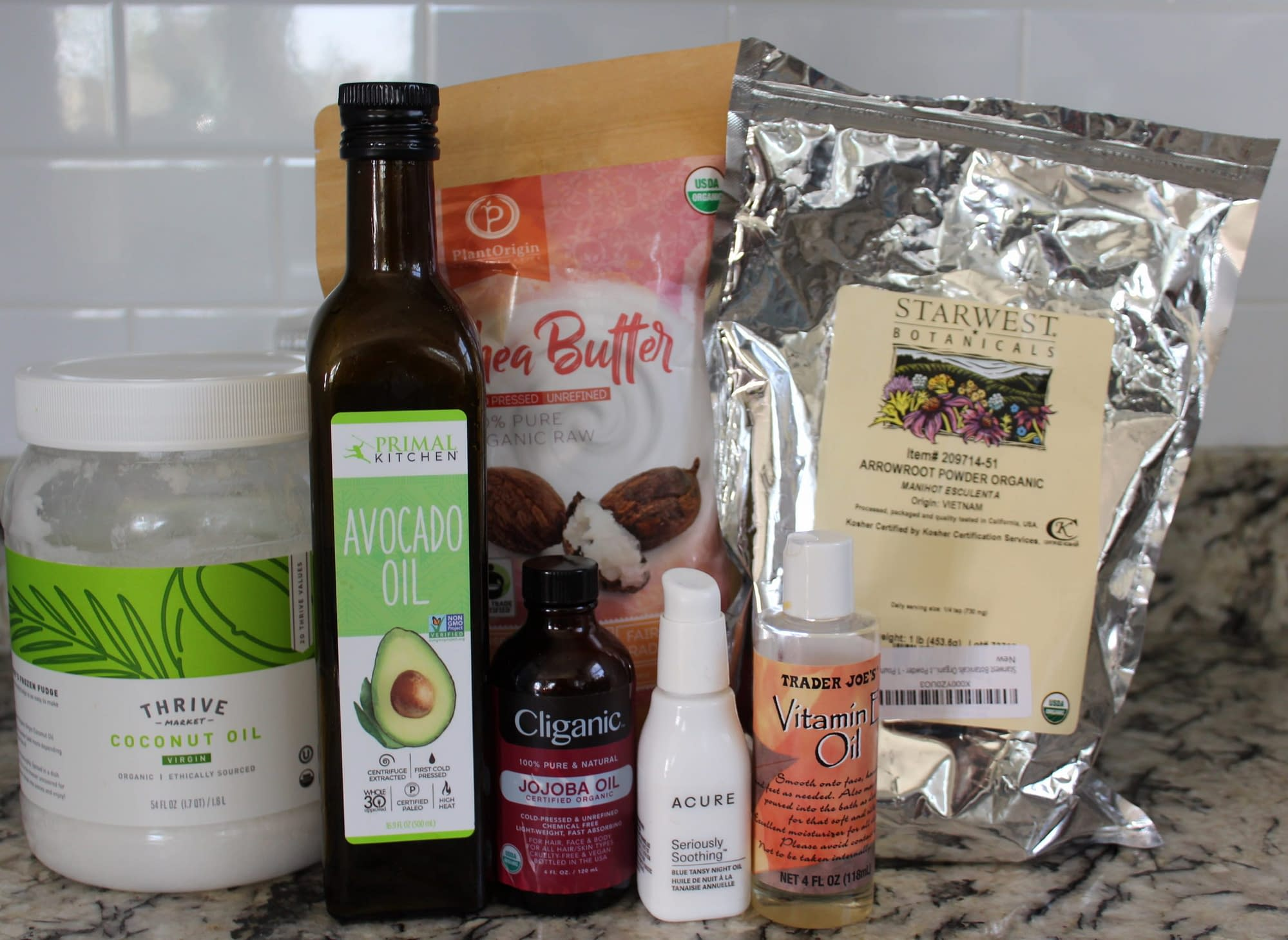 homemade lotion recipe ingredients